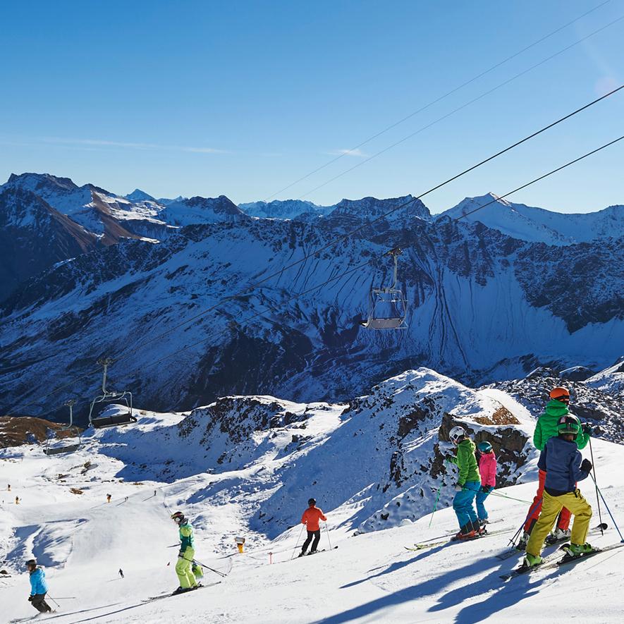 novemberhoch arosa - skifahren in arosa bereits im november - hotel sonnenhalde arosa